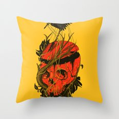Nameless Hero Throw Pillow
