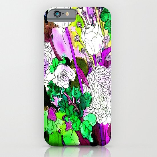 forest flowers 2 iPhone & iPod Case