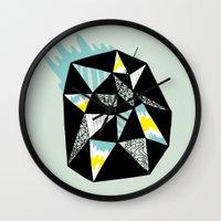 Crystalized II Wall Clock