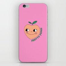 Pretty Peach iPhone & iPod Skin