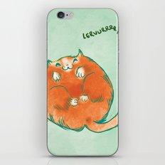 Lerverrr iPhone & iPod Skin