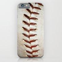 Vintage Baseball Stitching iPhone 6 Slim Case