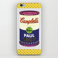 Horizontal Beatle Soup Cans iPhone & iPod Skin
