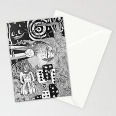 alice's dreams Stationery Cards