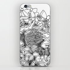 Swing (3D papercut) iPhone & iPod Skin