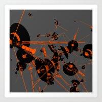 Voyager 3 Art Print