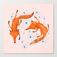 Twin Canvas Print