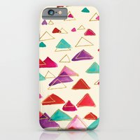 iPhone & iPod Case featuring triangle watercolors by Crystal ★ Walen