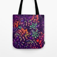 Cali Succulents 3 Tote Bag