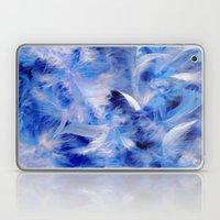 Blue Plumes Laptop & iPad Skin