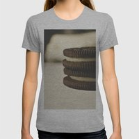 Oreos Womens Fitted Tee Athletic Grey SMALL