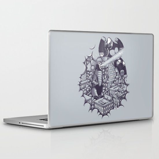 Lucha Kaiju Laptop & iPad Skin