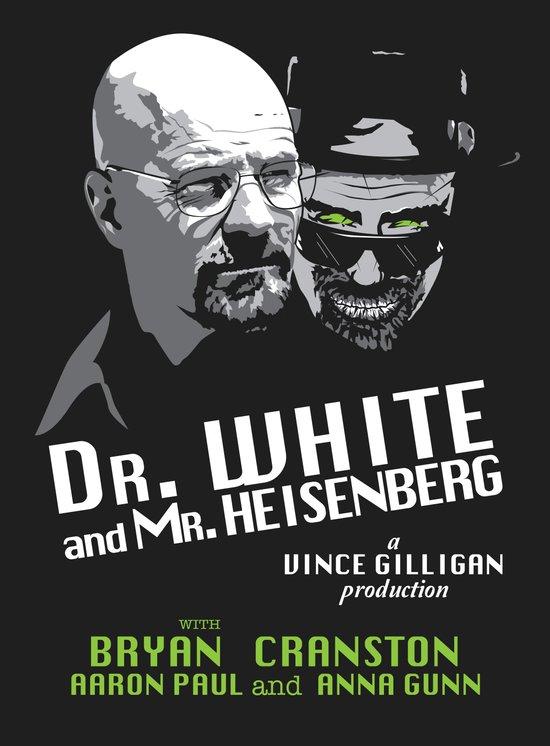 Dr. White and Mr. Heisenberg Art Print