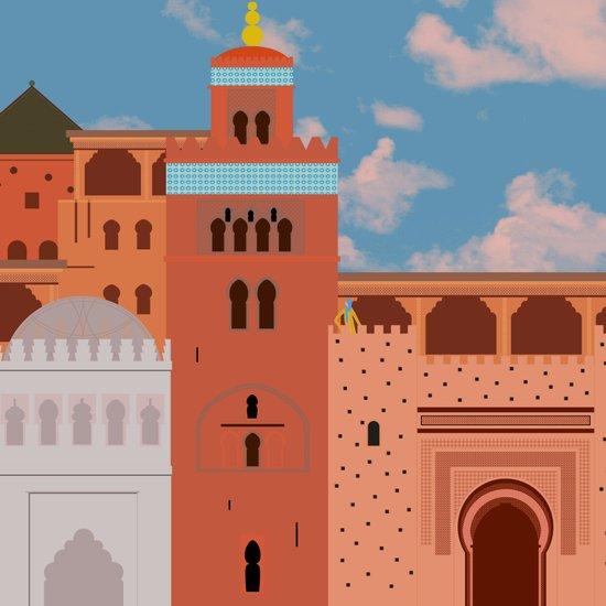 Moroccan Arch Art Print