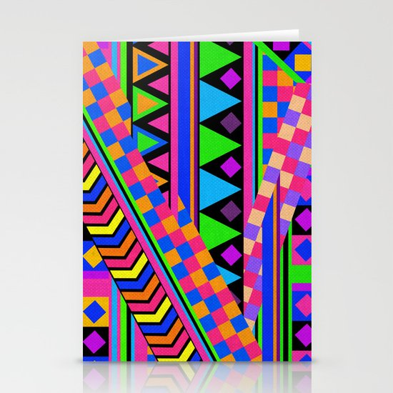 NEON Stationery Card