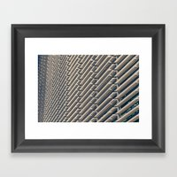 Shades Framed Art Print