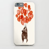 balloon iPhone & iPod Cases featuring Almost take off by Picomodi