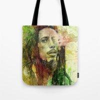 Reggae Rebel (Marley) Tote Bag