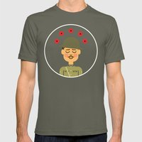 Remembrance Day Mens Fitted Tee Lieutenant SMALL
