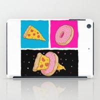 Pizza & Donut iPad Case
