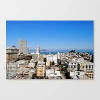 Overview Of San Francisc… Canvas Print