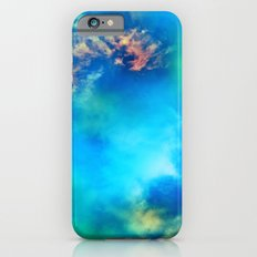 Cosmic Clouds In Blue iPhone 6 Slim Case