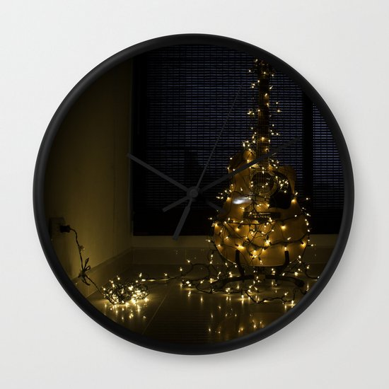 Hear the lights Wall Clock