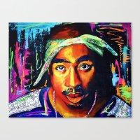 Tupac Shakur Canvas Print