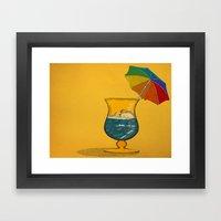 Summertime! Framed Art Print