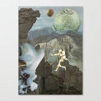 Phobos Canvas Print