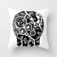 Time Bomb (Inverted) Throw Pillow