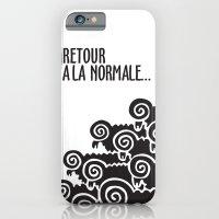 iPhone & iPod Case featuring Retour à la normale by elvisbr