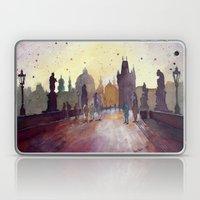Prague, Watercolor Explo… Laptop & iPad Skin