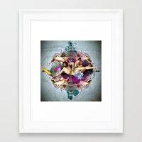Kaleidoscope Man Framed Art Print