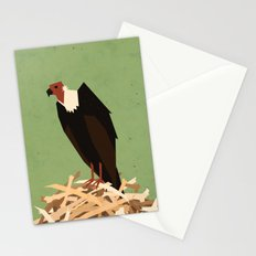 V is for Vulture Stationery Cards
