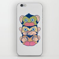 Hear no evil, Speak no evil, See no evil iPhone & iPod Skin