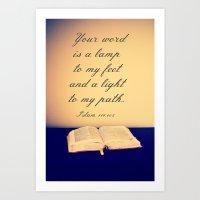 Bible  Art Print