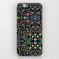Retro Confetti iPhone & iPod Skin