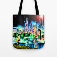 The Young Lady's Illustrated Primer — The Diamond Age Tote Bag