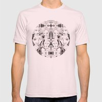 Loophole Mens Fitted Tee Light Pink SMALL