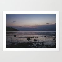Fishing Koh Phangan Art Print