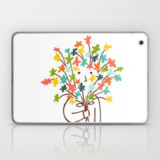 I bring flowers Laptop & iPad Skin