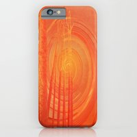 Spiraling Forest Pink iPhone 6 Slim Case