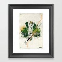 Kevin Garnett Tribute Framed Art Print