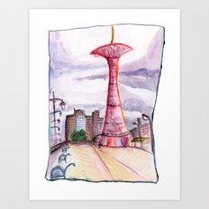 Coney Island: Parachute Jump Art Print