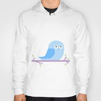 Bird on a branch go Hoot; Hoody