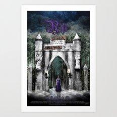 The Rift Official Movie Poster Art Print