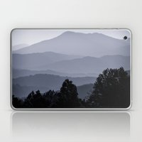 Misty morning at the Smoky's Laptop & iPad Skin