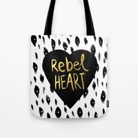 Rebel Heart Tote Bag