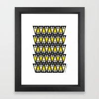 Dusk Arrowheads Framed Art Print